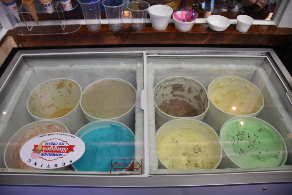 Hard Ice Cream at Downtown Location
