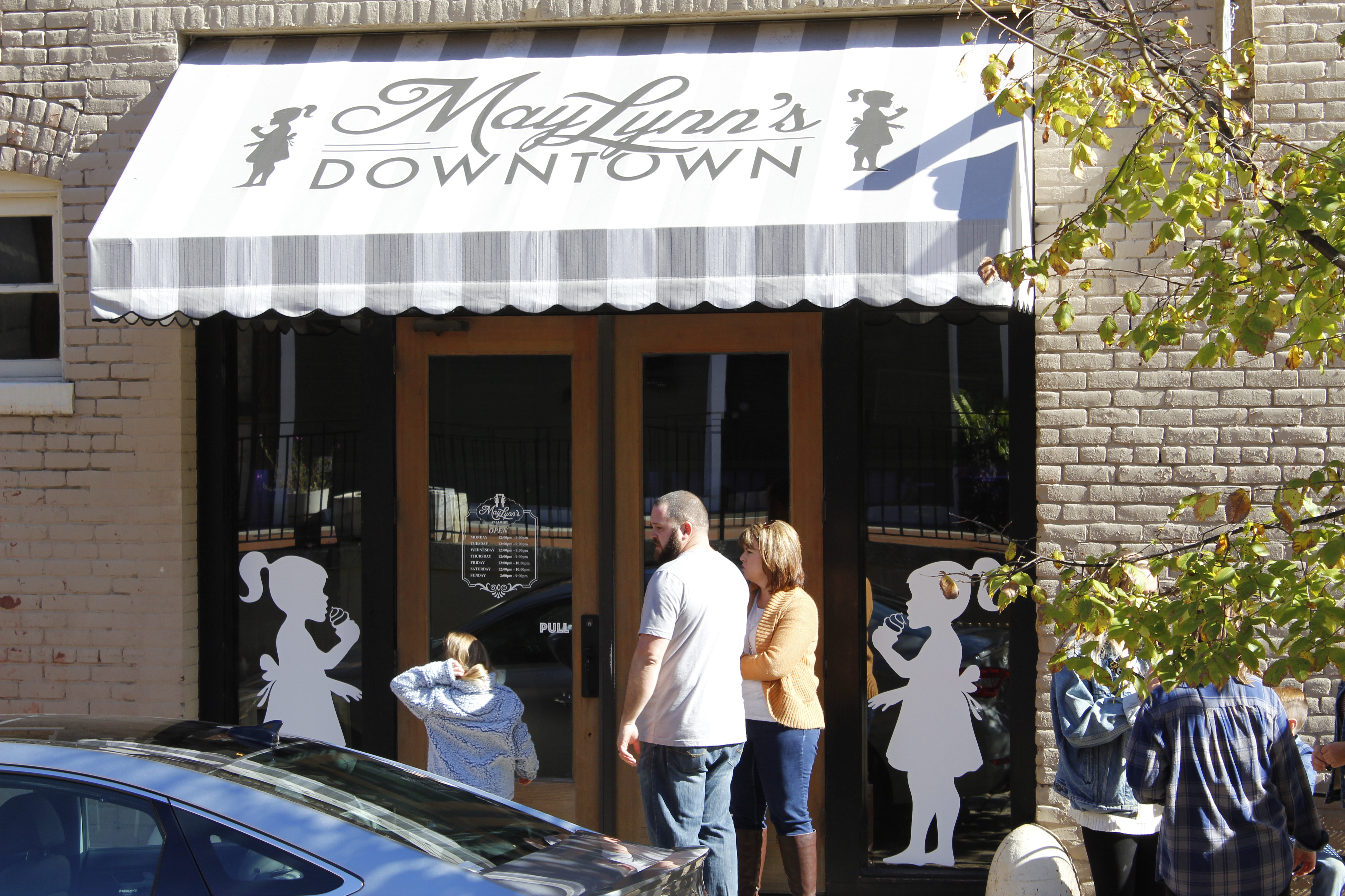 MayLynn's downtown store front